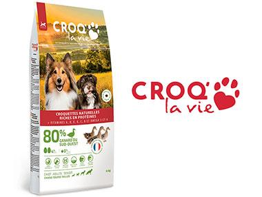 Avis sur les croquettes Croq la vie sans légumes